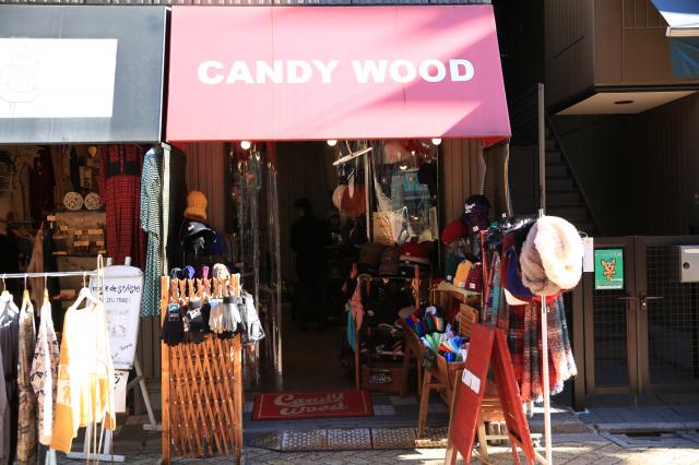 帽子屋 CANDYWOOD 1号店