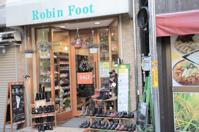 Robin Foot Shoe stores